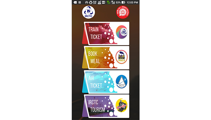 How Can I Book Railway Ticket Form IRCTC Mobile App