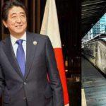 High-Speed-Rail with modi and sinzo abe