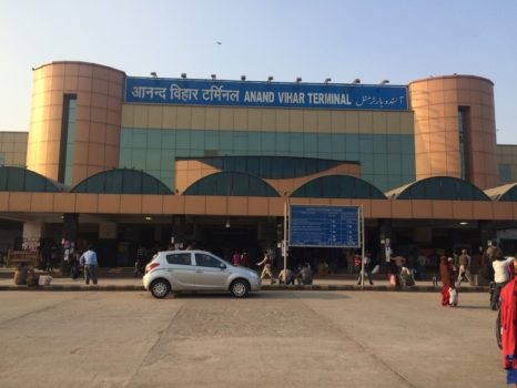anand-vihar-station - cleanest railway station in india