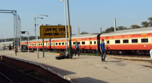 jammu-tawi-station - cleanest railway station in india